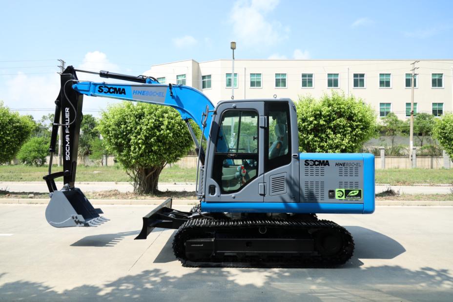 8吨电动履带挖掘机
